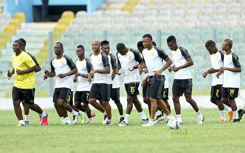 Image result for ghana blacks draw with egypt